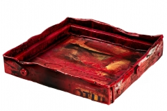Artist Damian Aquiles: Luxury Bar Trays for FACUNDO Rum Collection