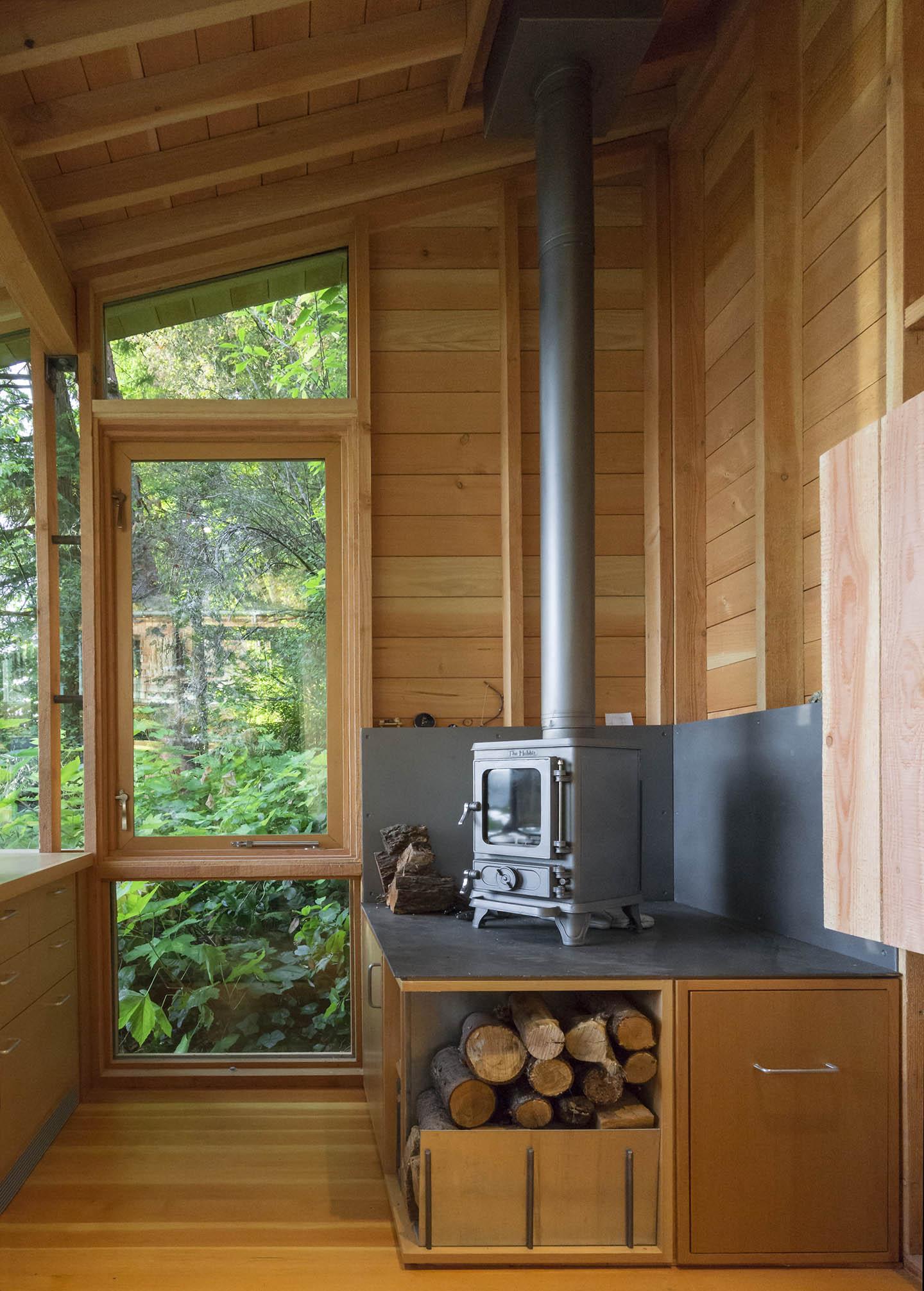 Interior, Cutler Cabin