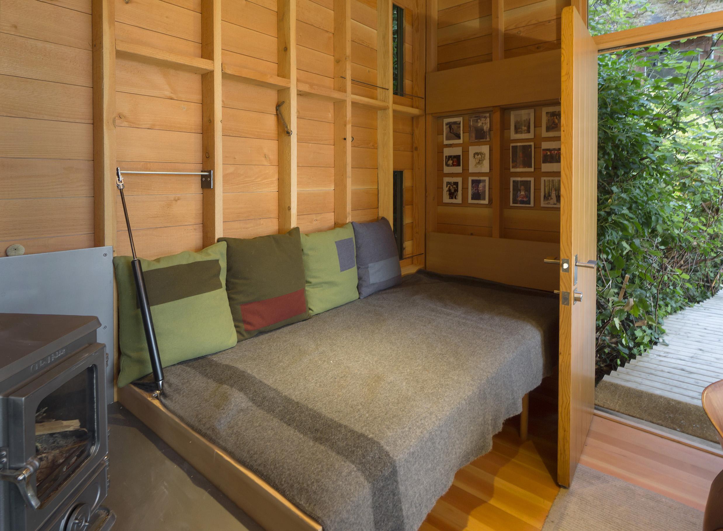 Cabin Bunk Down, Door Open