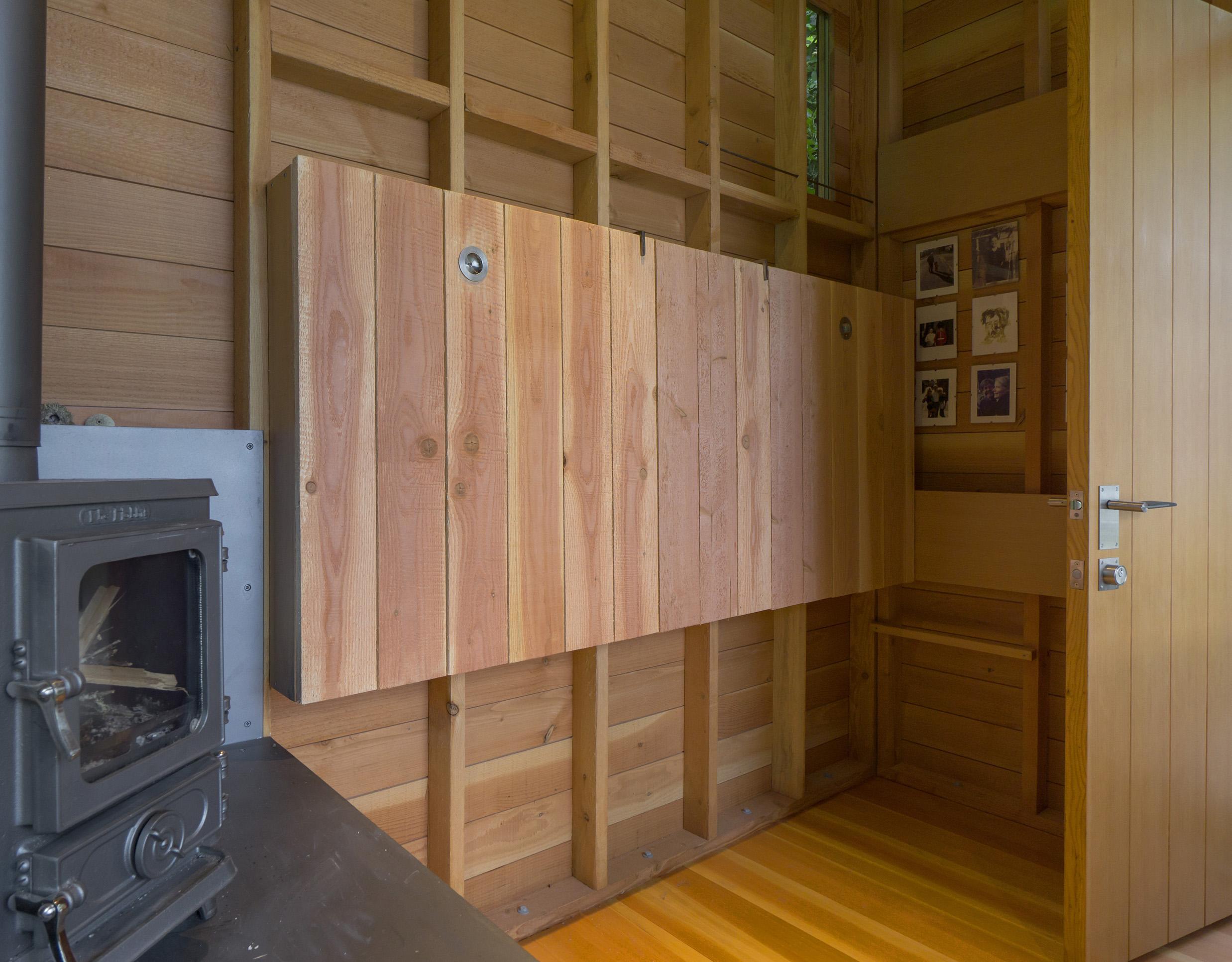 Cabin Bunk Up, Door Open