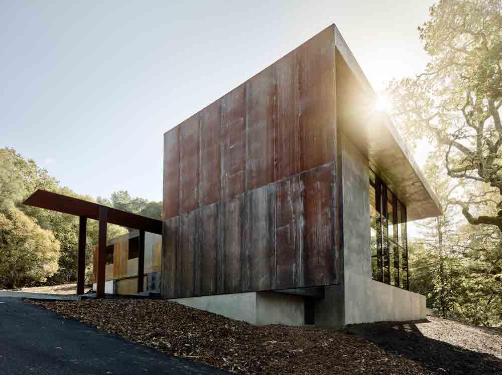 Miner Road House, Faulkner Architects © Joe Fletcher
