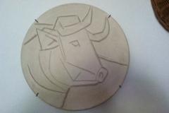 Picasso, Bull at Finca Vigia