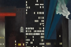 Georgia O'Keeffe Radiator Building-Night, New York Oil on Canvas, 1927