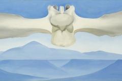 Georgia O'Keeffe Flying Backbone Oil on Canvas 1944