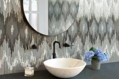Loom stone mosaic
