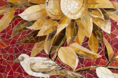 Lemons glass mosaic