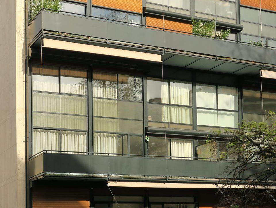 Immeuble Clarté, by Le Corbuseier, 1930, Geneva, Switzerland (1)