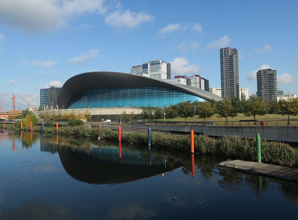 London Aquatic Center, by Zaha Hadid Architects, London, UK, design 2004