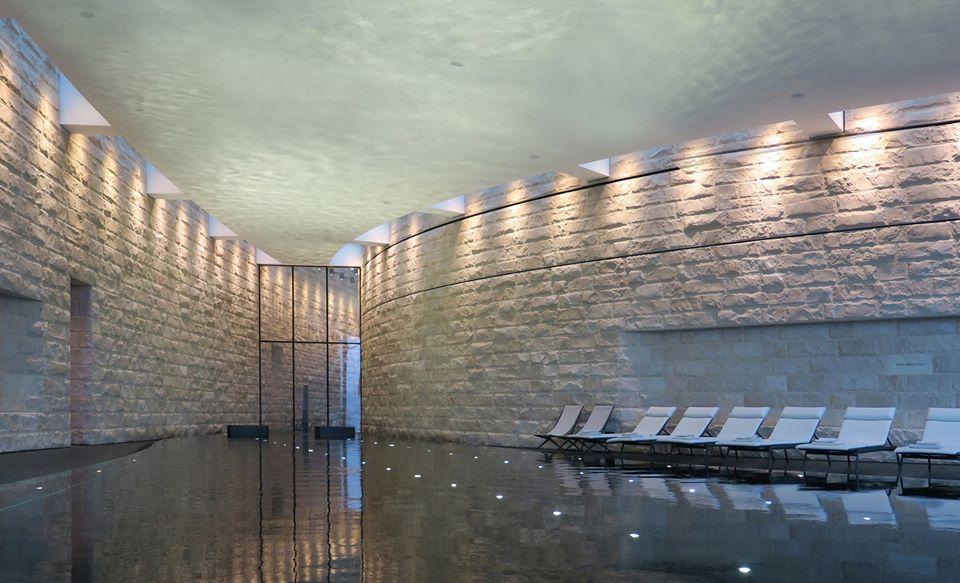Spa at The Dolder Grand, by architect Norman Foster, Zurich, Switzerland, 2008