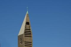 St Gertrud church, by architect Gottfried Böhm, Cologne, Germany, 1965