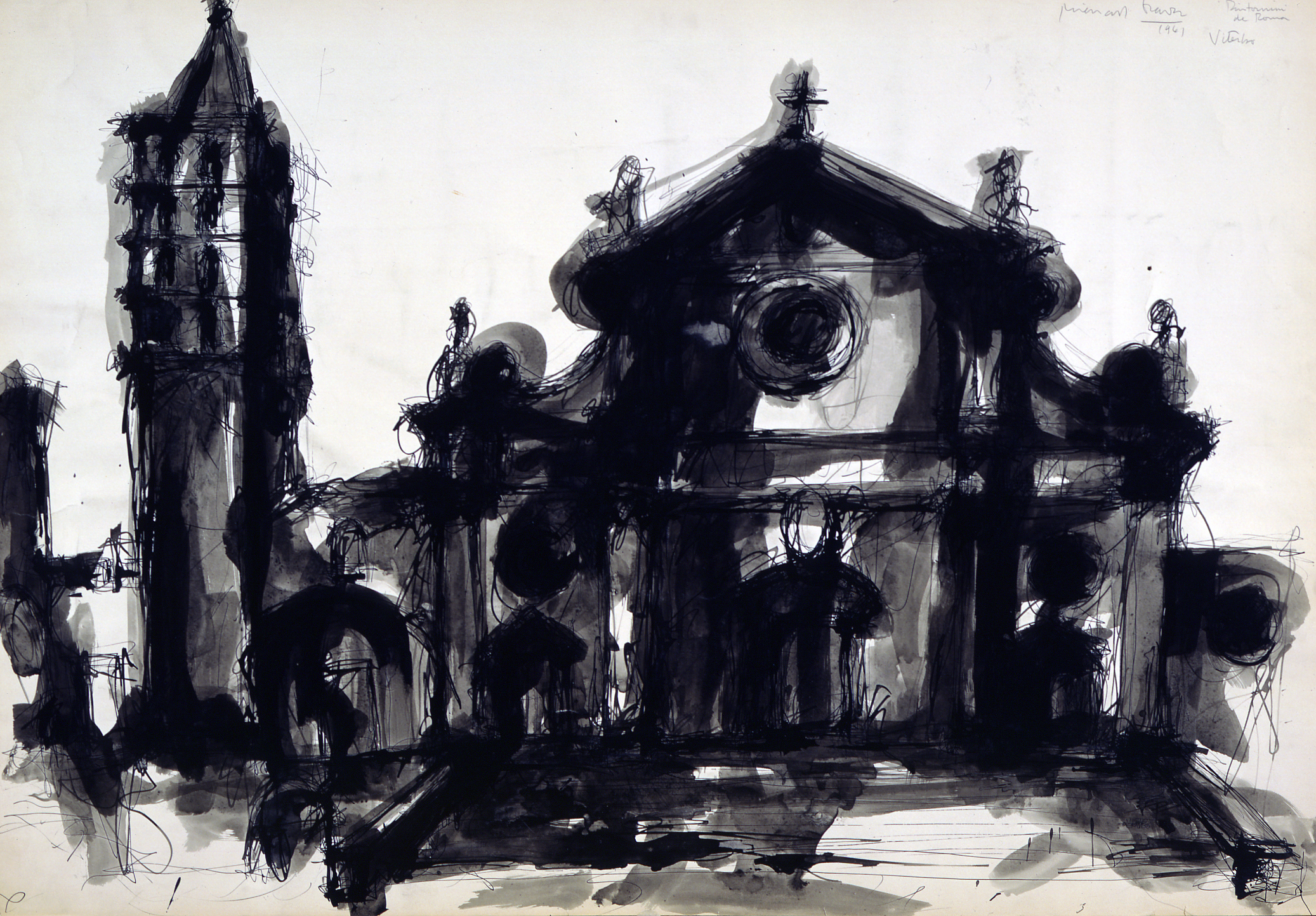 Church and Campanile: Michael Graves