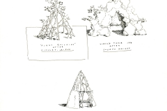 Ink sketches composed for Castelli Folly: Michael Graves