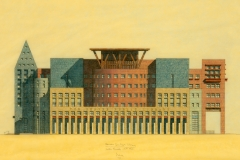 Denver Library Main Facade Sketch: Michael Graves