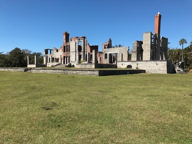 Ruins of Dungeness, Cumberland Island, Ga.
