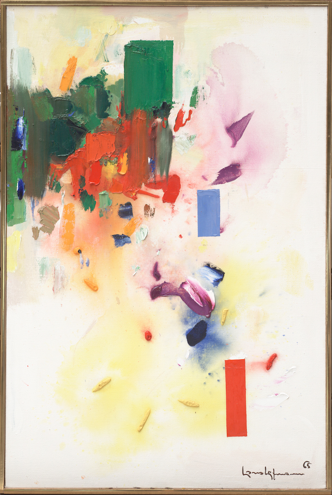 The Castle1965Oil on canvas60 ⅛ x 40 ⅛ in. (152.7 x 101.9 cm)University of California Berkeley Art Museum and Pacific Film Archive. Gift of the artist, 1966 (1966.4)