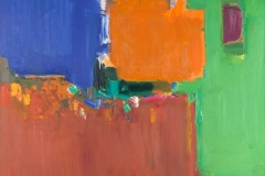 Indian Summer1959Oil on canvas60 ⅛ x 72 ¼ in. (152.7 x 178.43 cm)University of California, Berkeley Art Museum and Pacific Film Archive. Gift of Hans Hofmann, 1965 (1965.11)