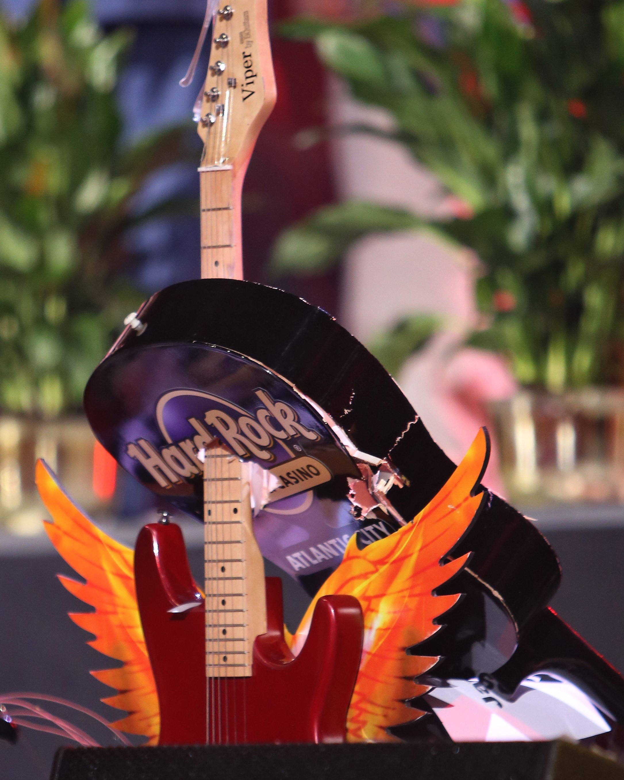 """Guitar-Smashing,"" Hard Rock Hotel & Casino, Atlantic City"