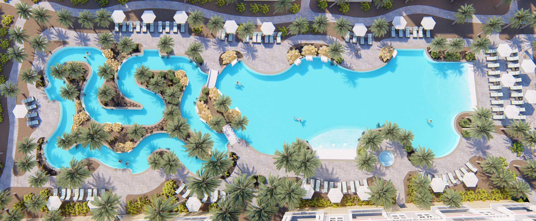 The Henderson Resort, Pool Aerial