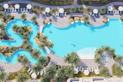 The Henderson Resort, Pool Aerial