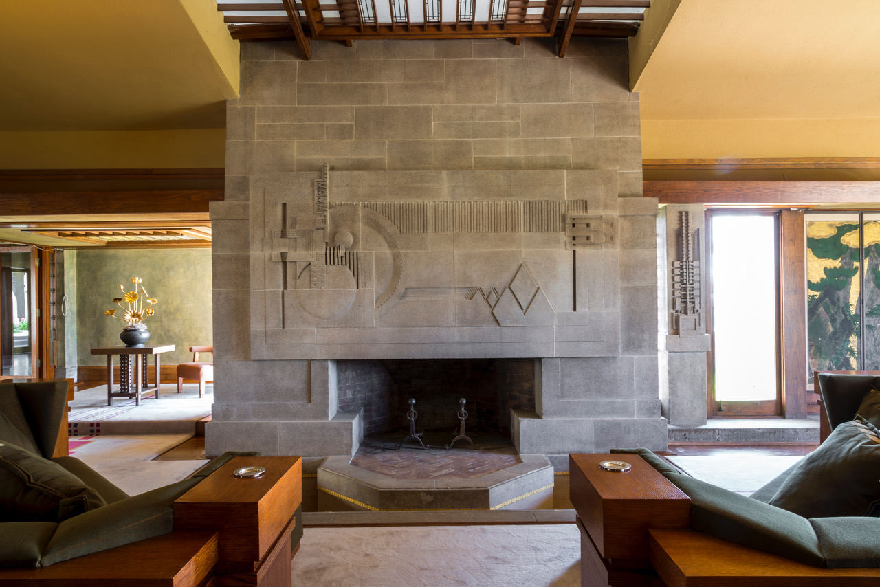 Hollyhock House, Frank Lloyd Wright
