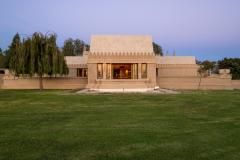 Hollyhock House, Frank Lloyd Wright