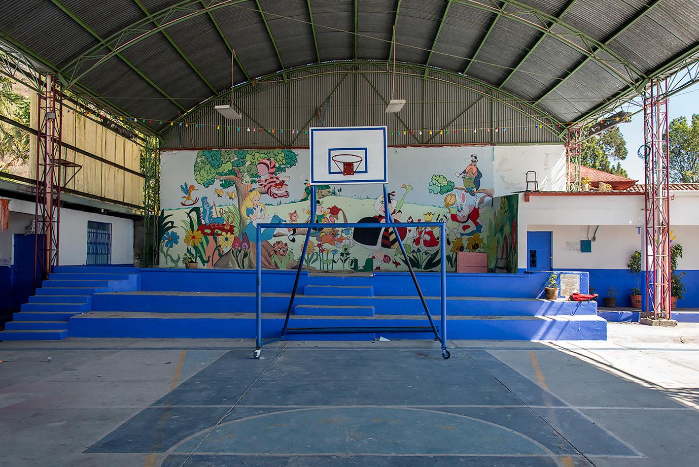 Primary school, Panajachel, Guatemala; 2016