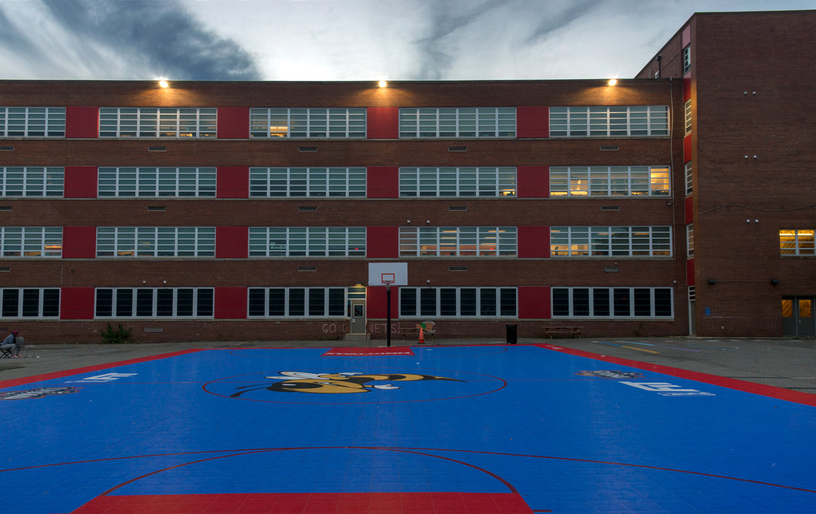Primary school in Southeast, Washington, D.C.; 2018