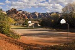 Public school playground, Sedona, Arizona 2009