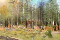Black Bay Park, Post Falls, Idaho: Pine Bluff Nature Play
