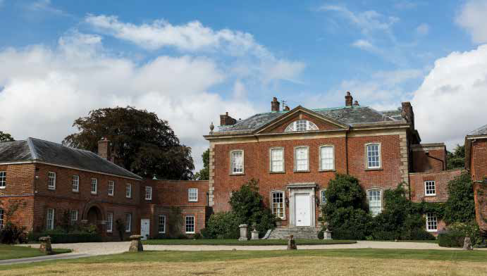 The front of Britwell showing one of the two wings.