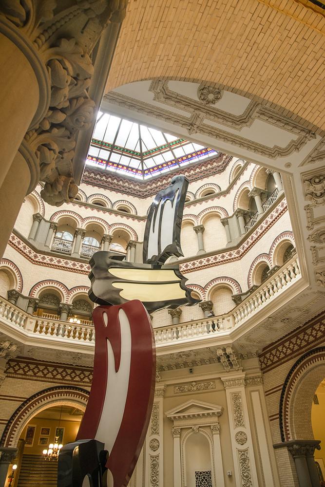 Interior Landmarks, Tweed Courthouse