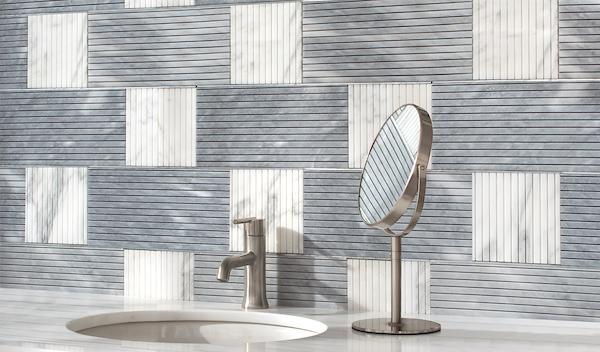 Kiawah Kente Grand Bathroom Wall
