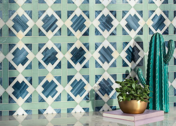 Kubuni Jewel Glass Mosaic