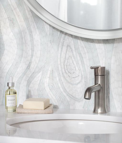 Maji Jewel Glass Mosaic Bathroom
