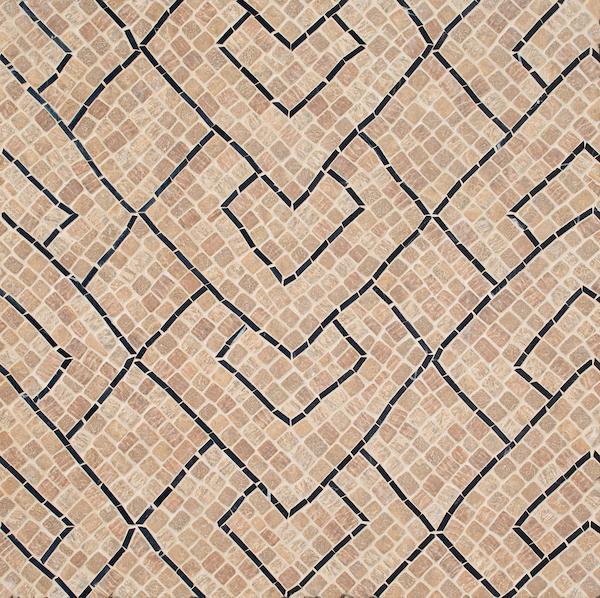 Serengeti Stripe Stone Mosaic