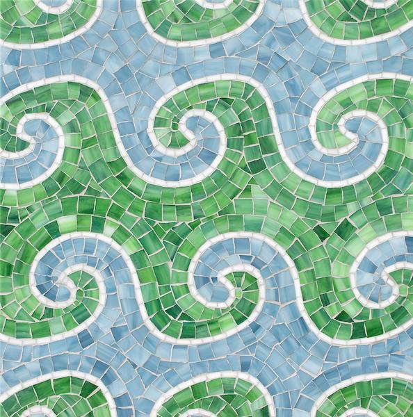 Wimbi Jewel Glass Mosaic