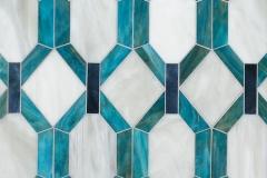 Tanzanian Trellis Grand Jewel Glass Mosaic