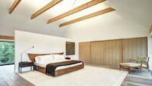 Norman Jaffe Studio, Bedroom, Martin Architects