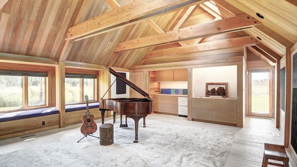 Norman Jaffe Studio, Entertainment Room, Martin Architects