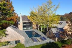 Norman Jaffe Studio, Rear Property Shot, Martin Architects