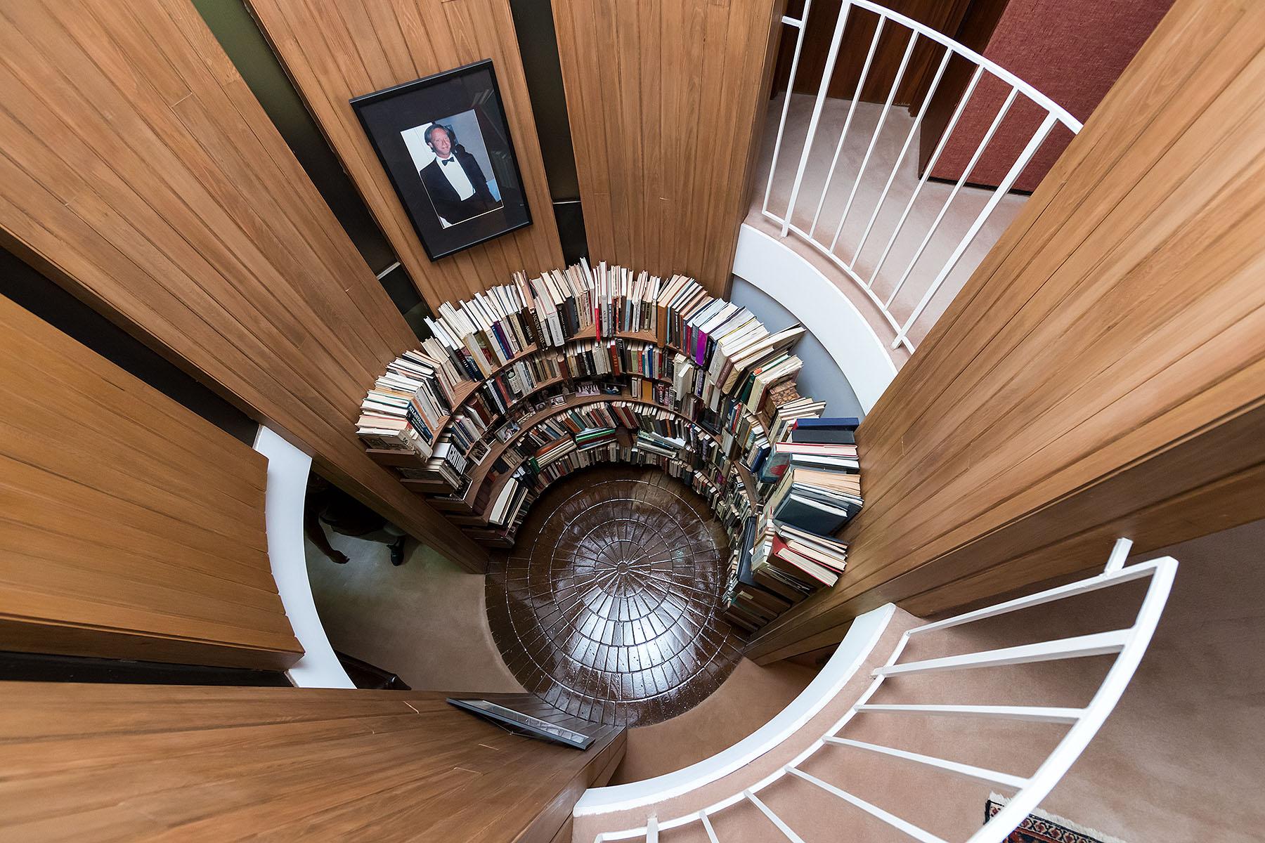 Entelechy House, Atlanta, John Portman; Iwan Baan Studio
