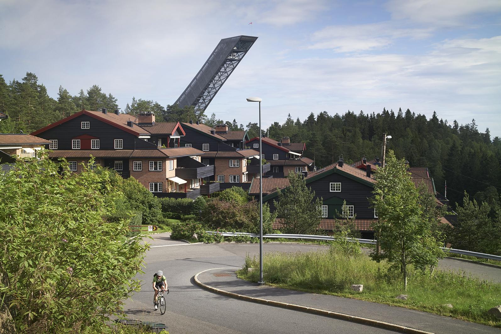 Ski Jump, Oslo, Julien De Smedt