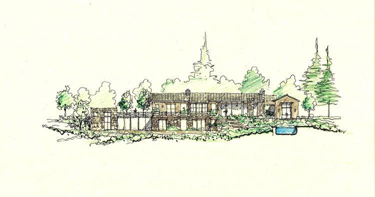 Santa Lucia Retreat, Ken Linsteadt Architects