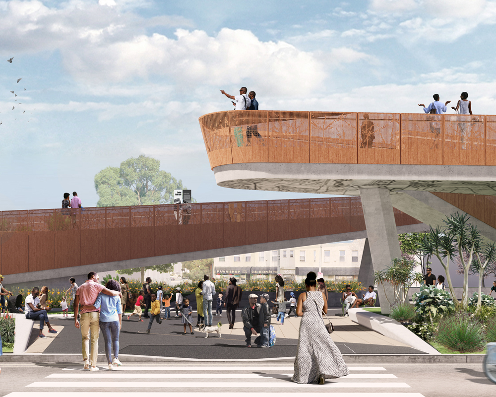 Destination Crenshaw; Photo Credit Perkins+Will