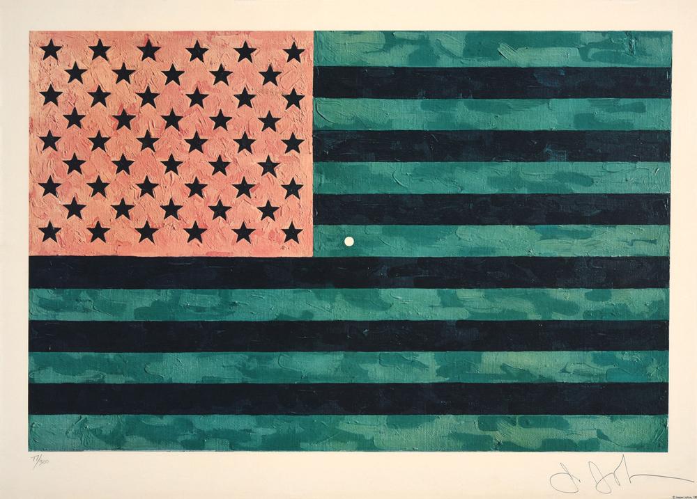 Moratorium, Jasper Johns, Los Angeles Modern Auctions (LAMA)