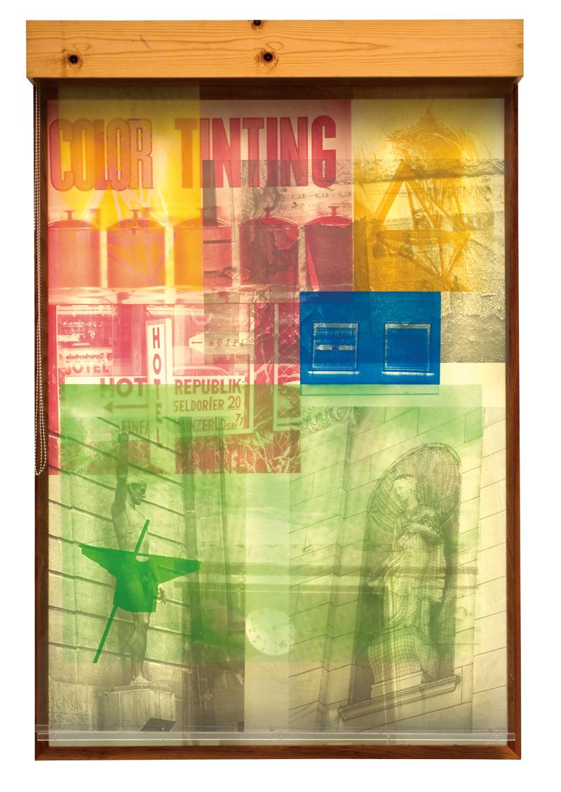 Sling Shot, Robert Rauschenberg, Los Angeles Modern Auctions (LAMA)
