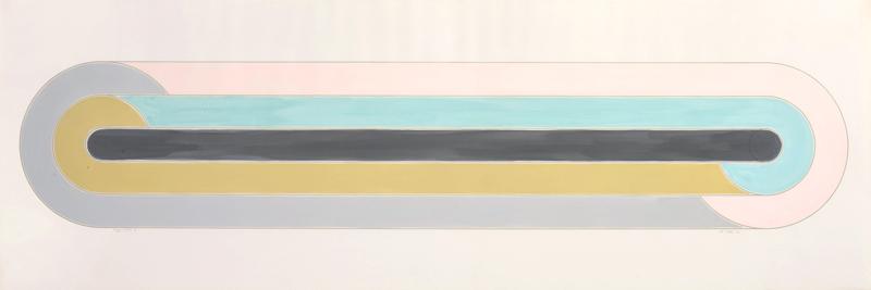 Rayy Sketch, Frank Stella, Los Angeles Modern Auctions (LAMA)
