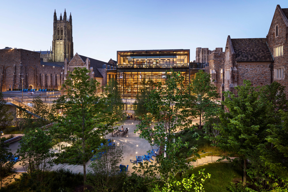 RH Duke, Crown Commons, James Ewing, Courtesy Duke University
