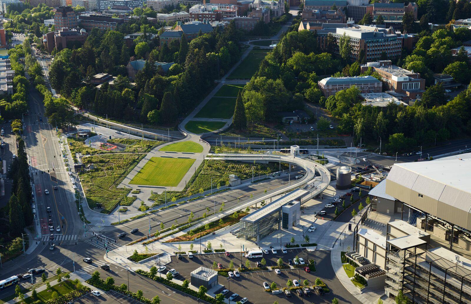 University of Washington Transit Station by LMN Architects