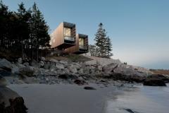 Two Hulls House, Port Mouton, Nova Scotia; Photgraph by Greg Richardson